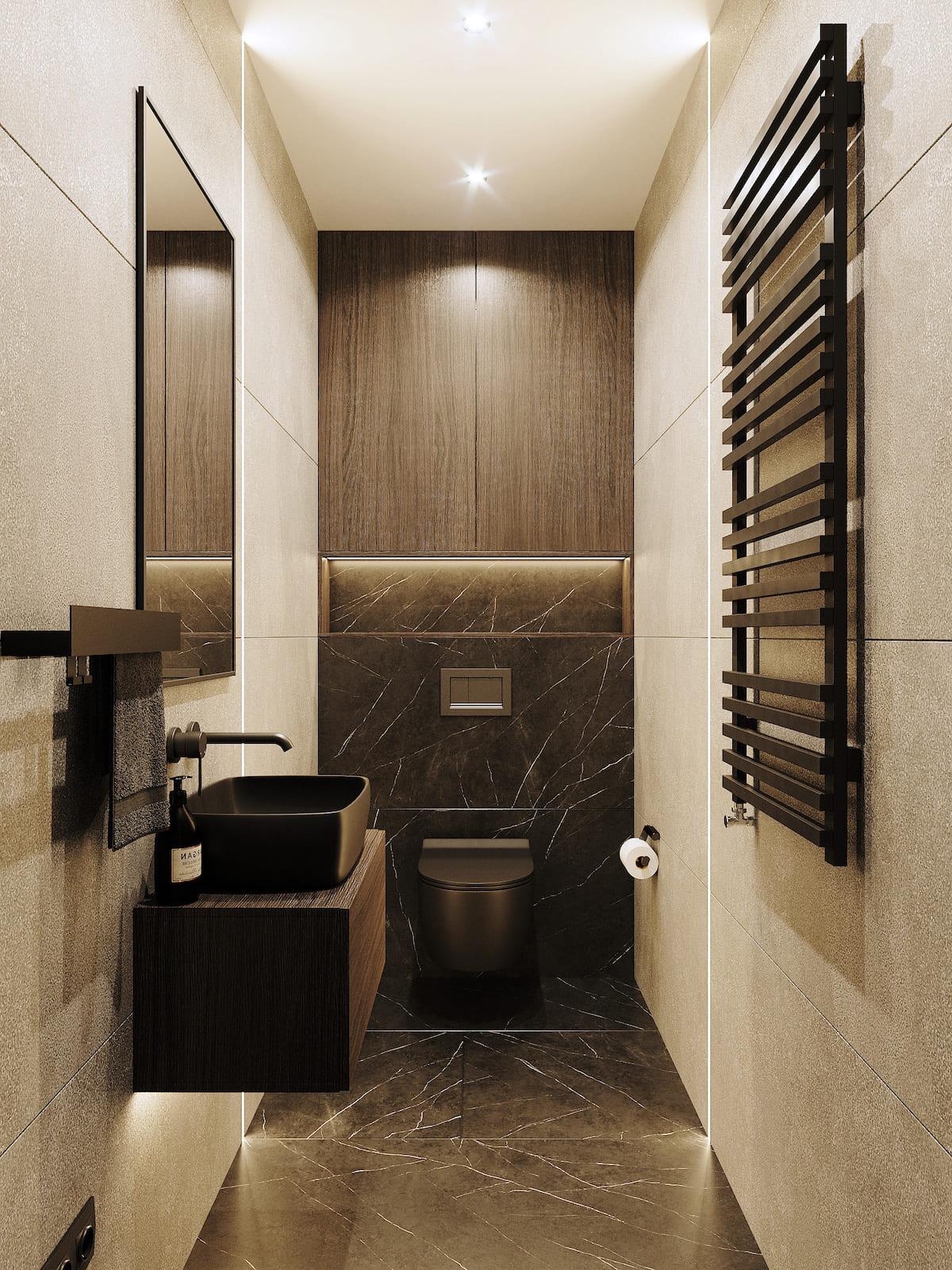 дизайн интерьера ванной комнаты фото 83