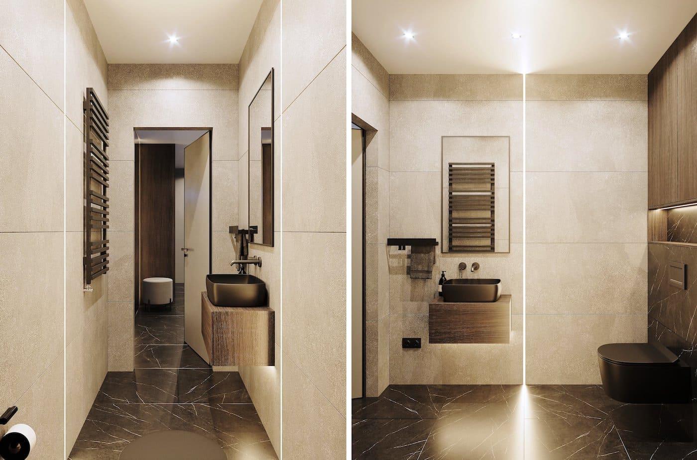 дизайн интерьера ванной комнаты фото 84