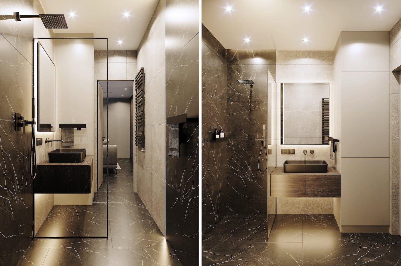 дизайн интерьера ванной комнаты фото 88