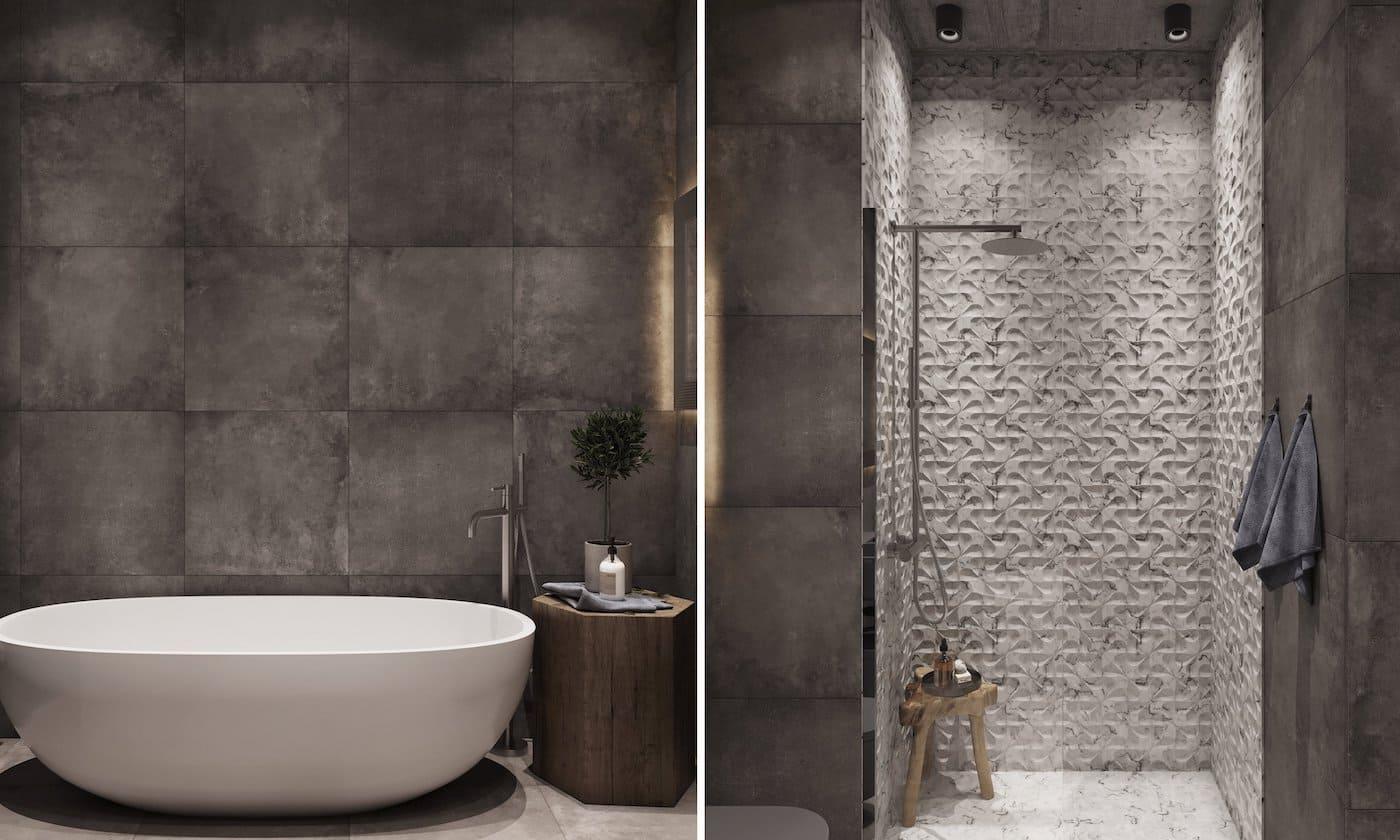 дизайн интерьера ванной комнаты фото 80