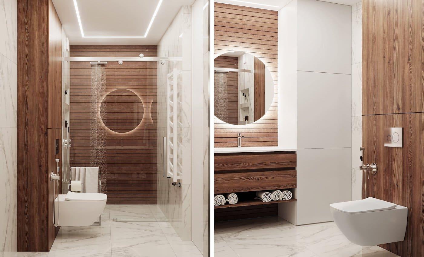 дизайн интерьера ванной комнаты фото 50