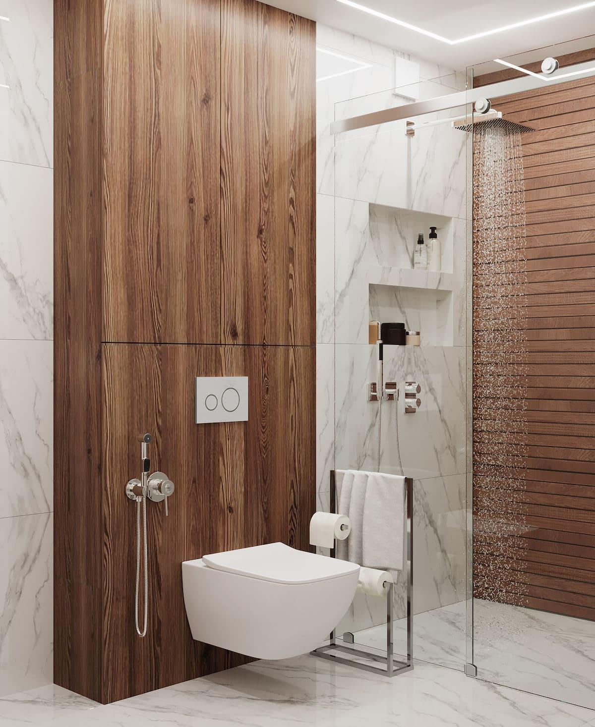 дизайн интерьера ванной комнаты фото 49