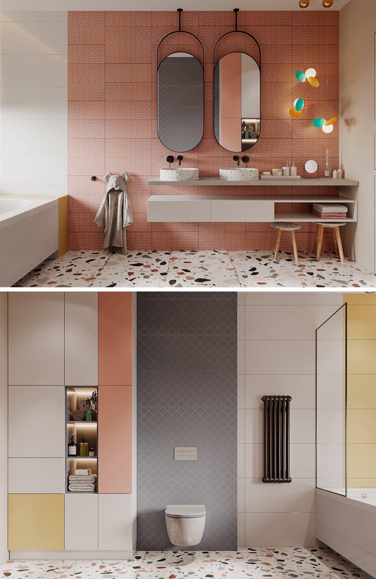 дизайн интерьера ванной комнаты фото 38