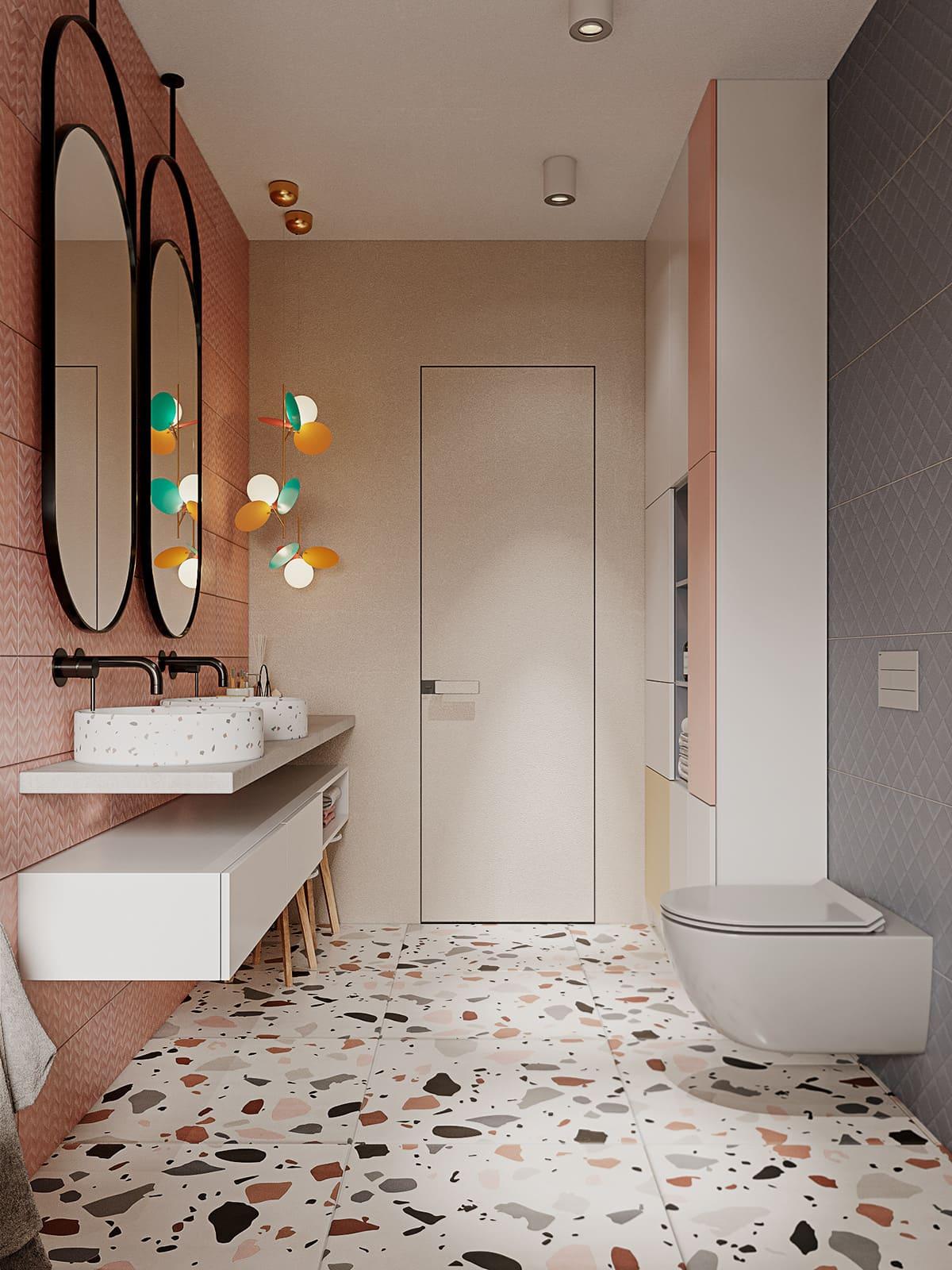 дизайн интерьера ванной комнаты фото 36