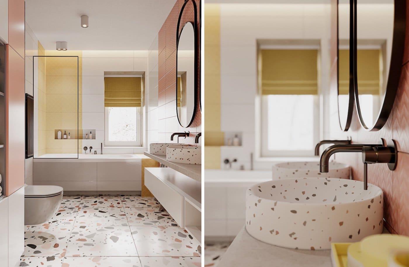 дизайн интерьера ванной комнаты фото 37