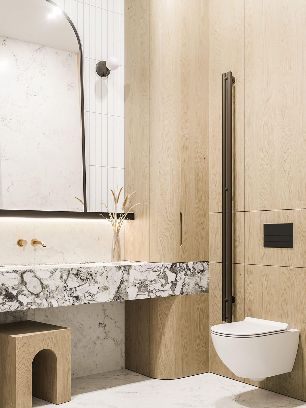 дизайн интерьера ванной комнаты фото 52