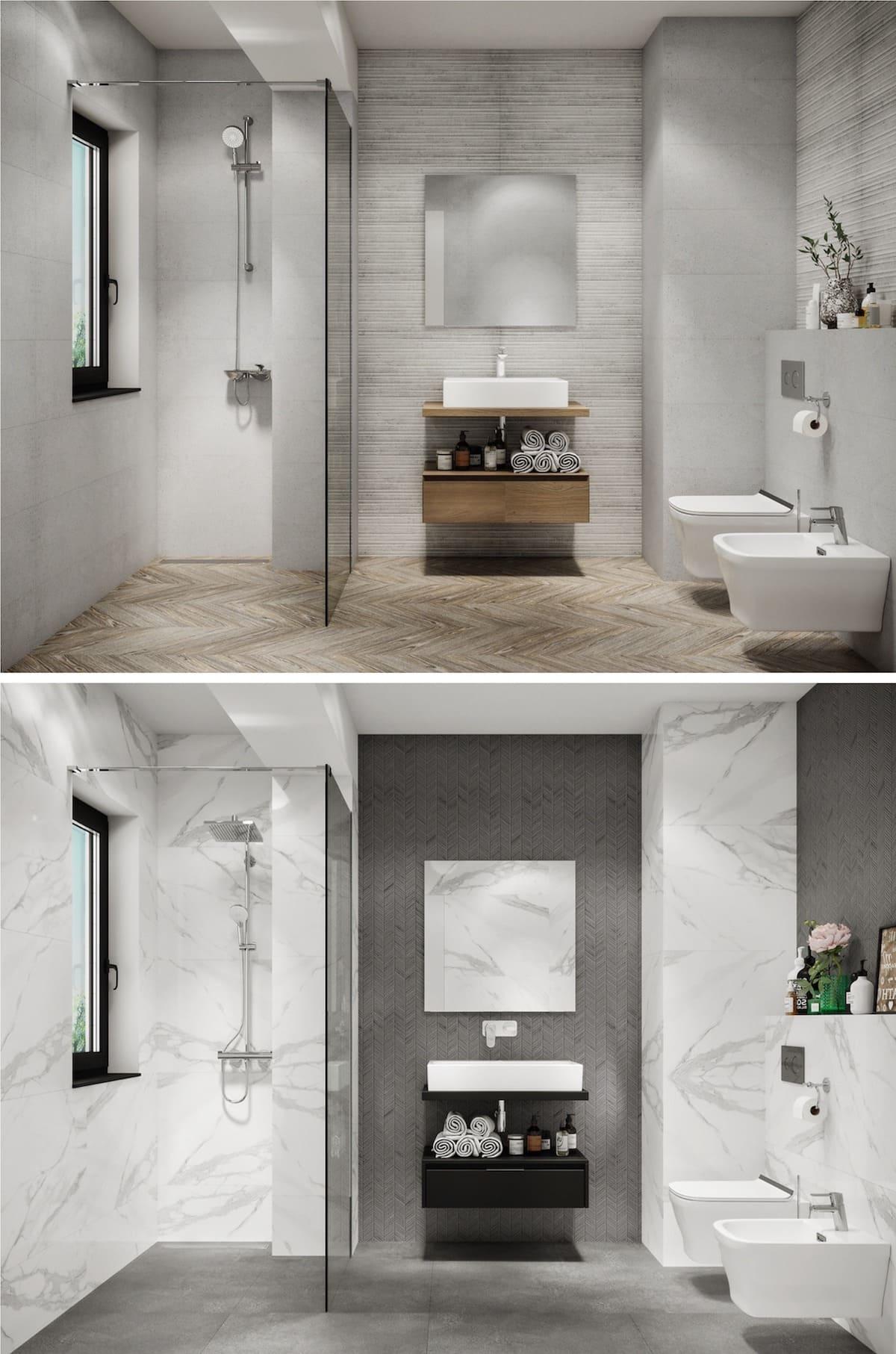 дизайн интерьера ванной комнаты фото 20