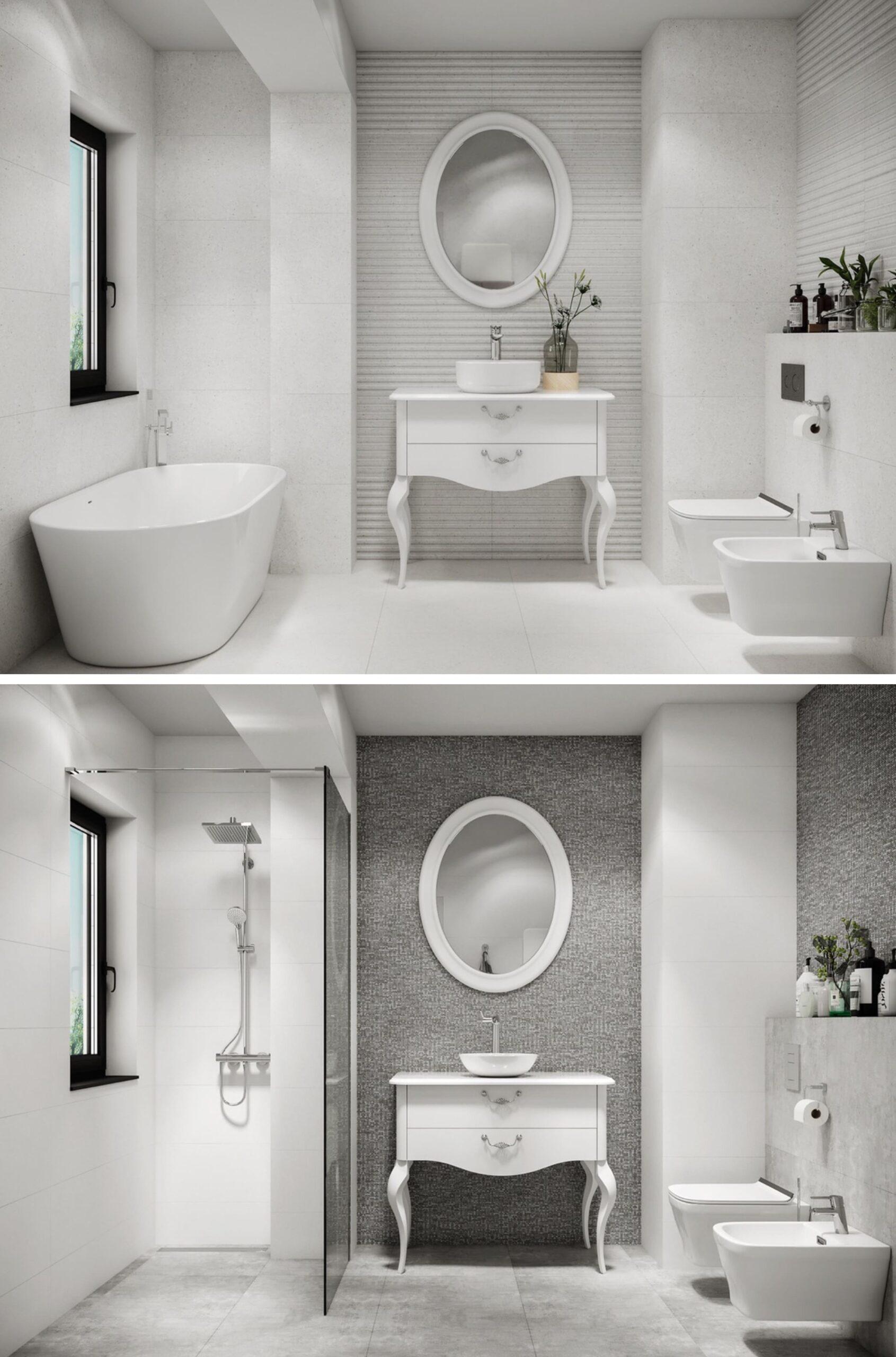 дизайн интерьера ванной комнаты фото 21