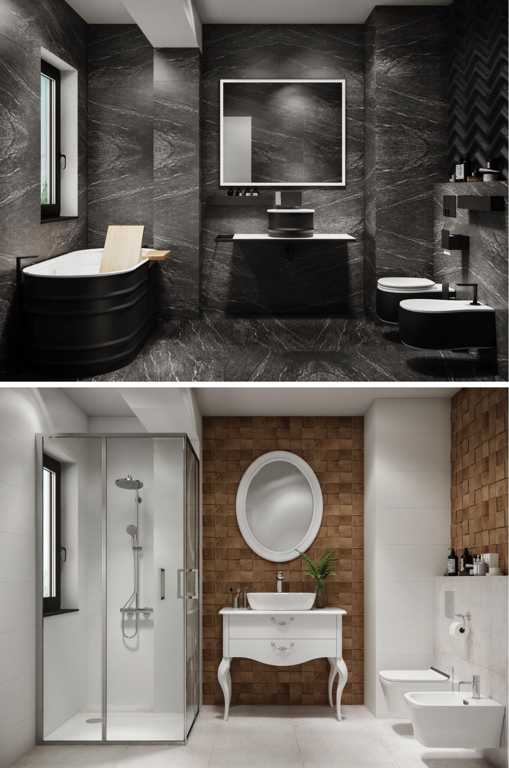 дизайн интерьера ванной комнаты фото 22