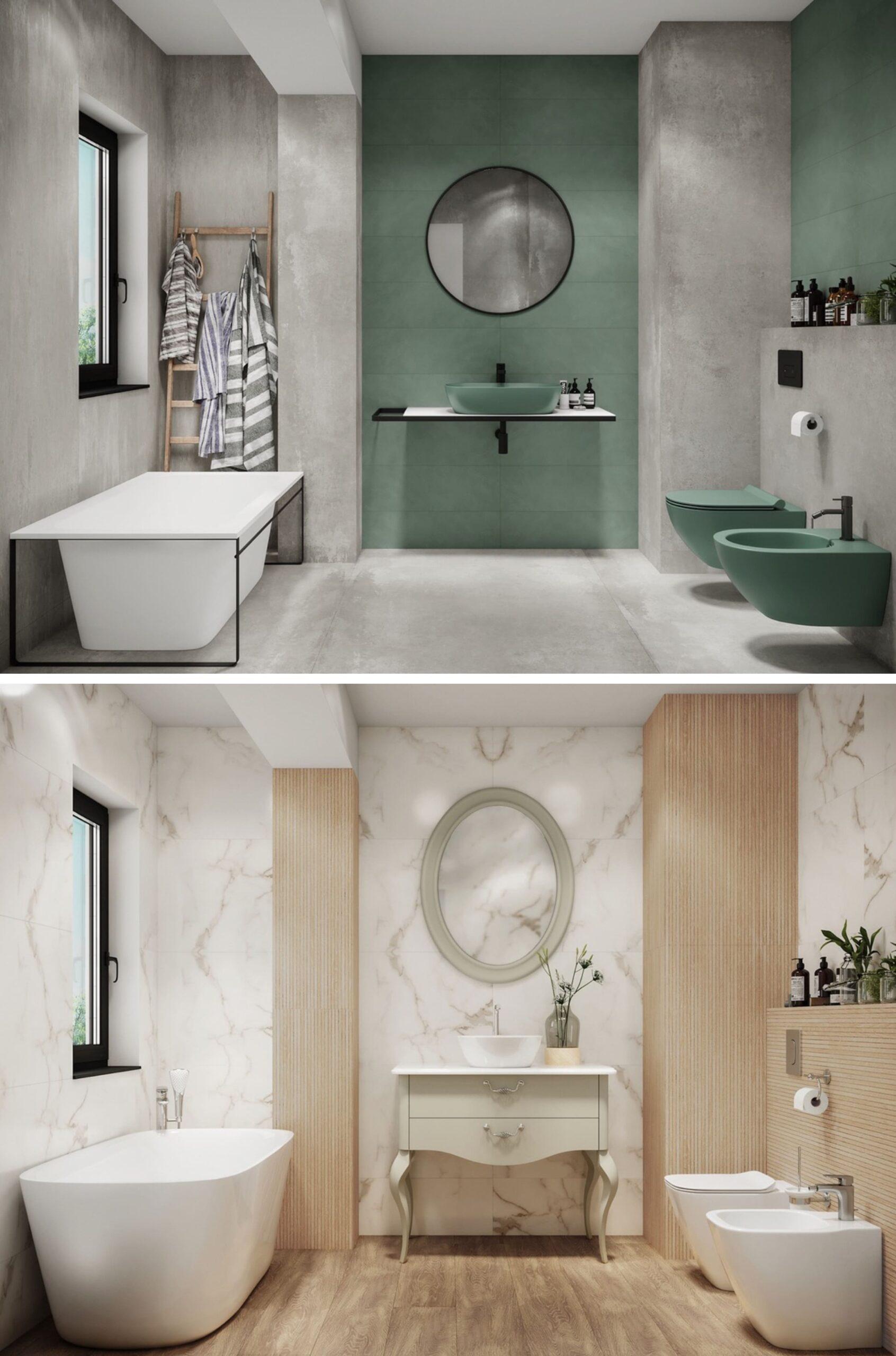 дизайн интерьера ванной комнаты фото 23