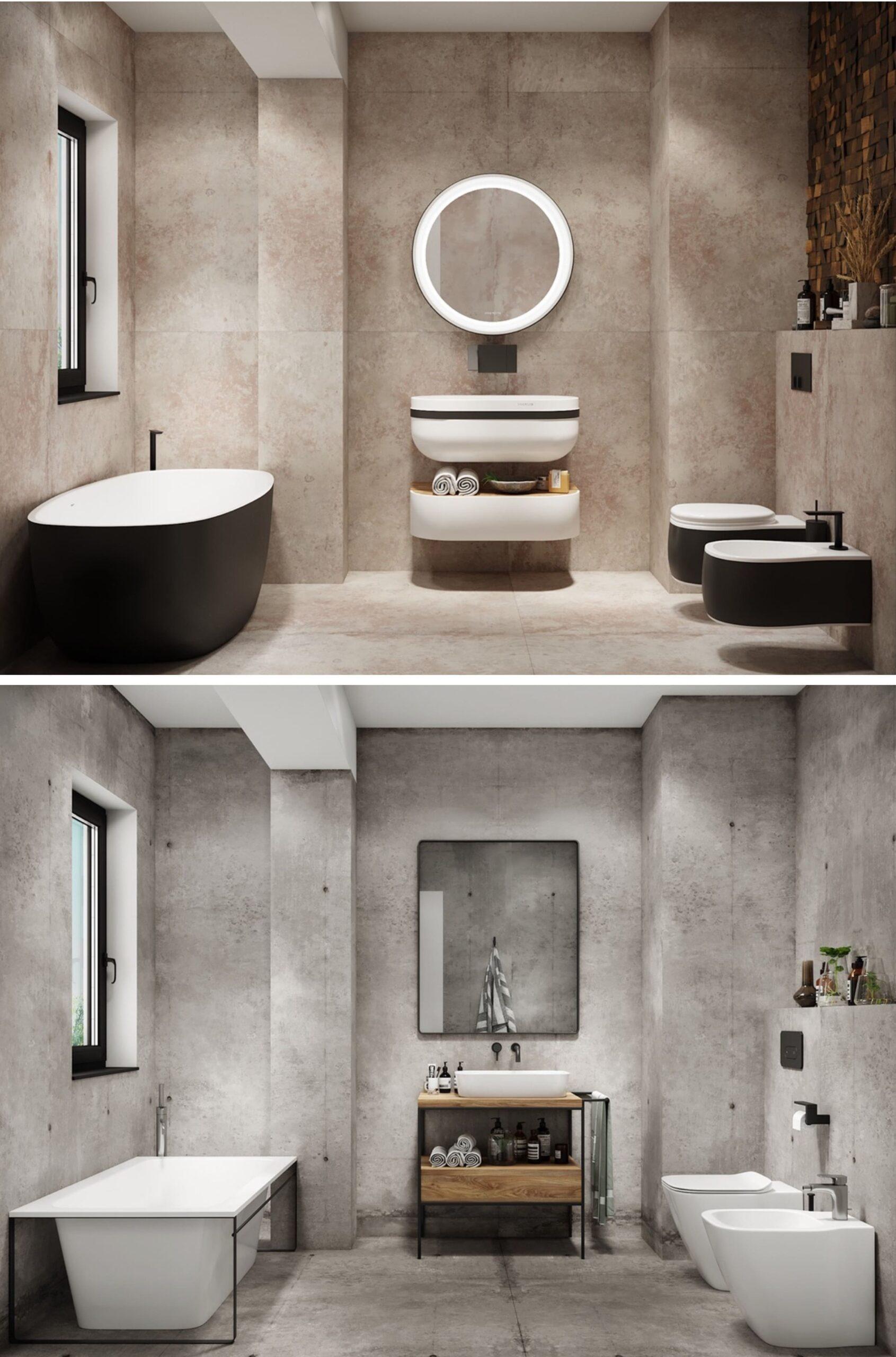 дизайн интерьера ванной комнаты фото 24