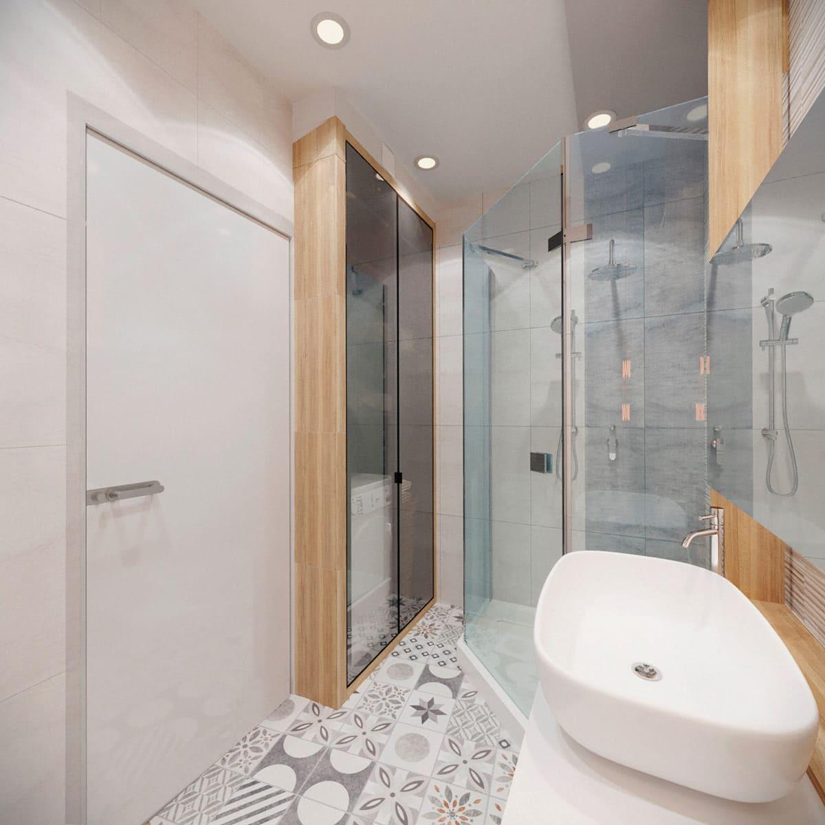 дизайн интерьера ванной комнаты фото 8
