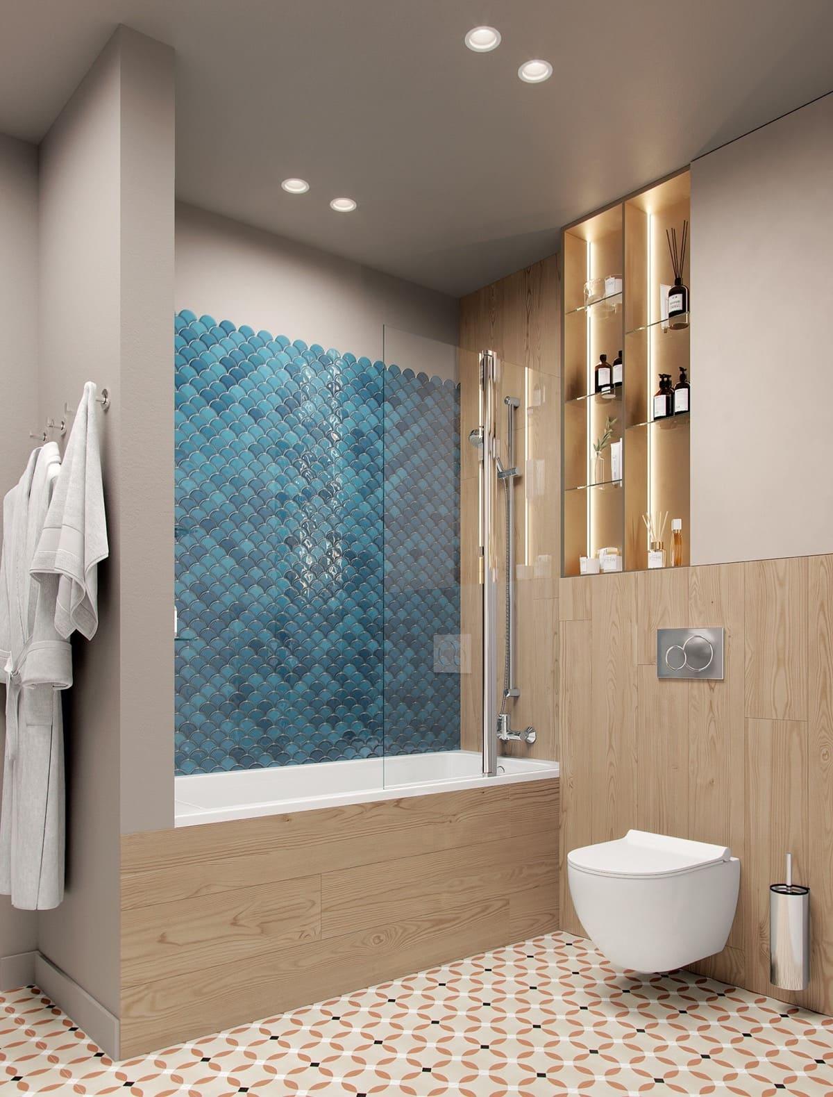 дизайн интерьера ванной комнаты фото 11