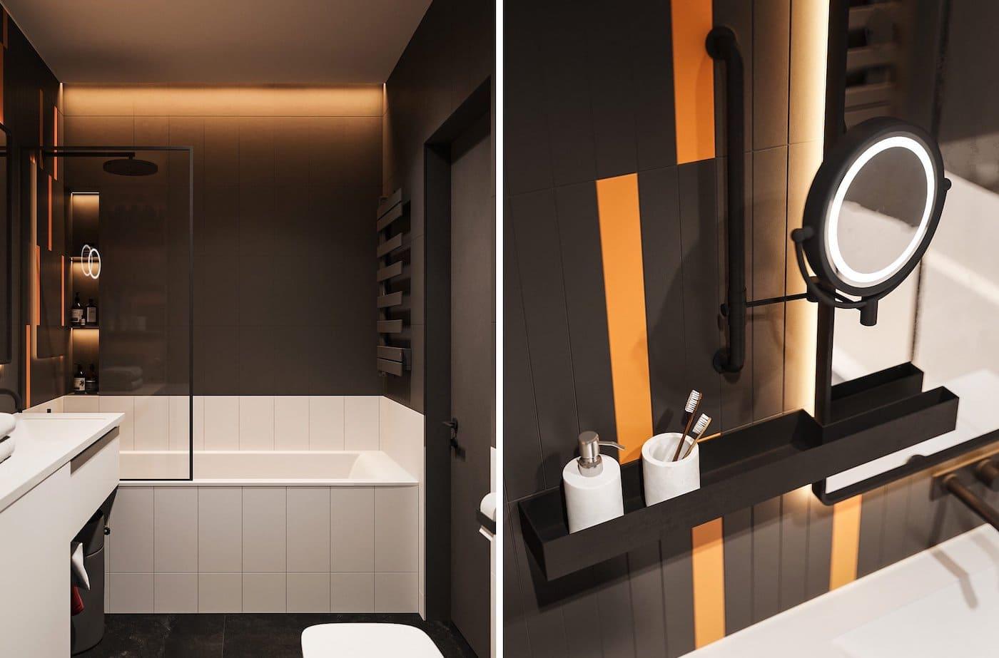 дизайн интерьера ванной комнаты фото 43