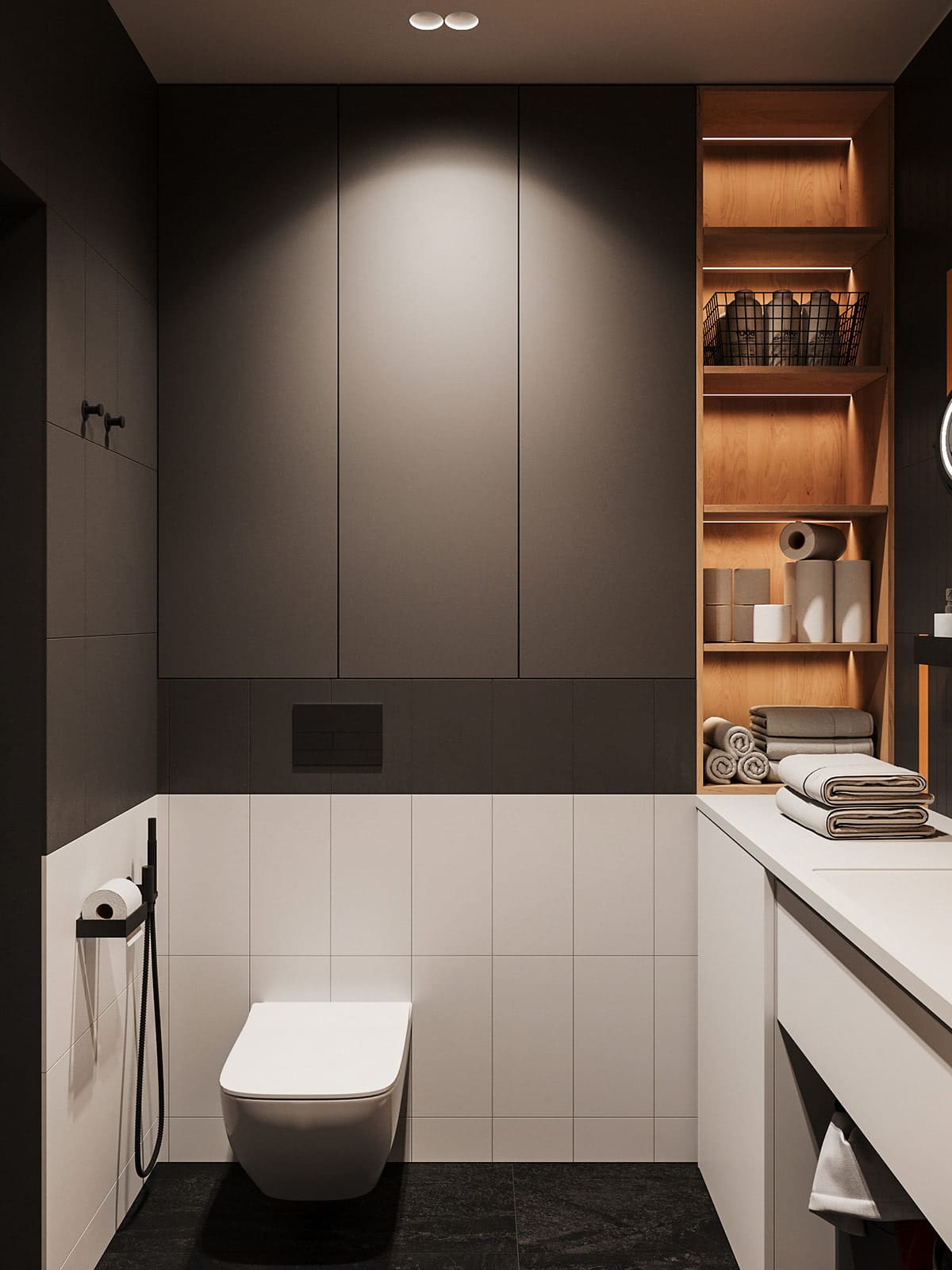дизайн интерьера ванной комнаты фото 44