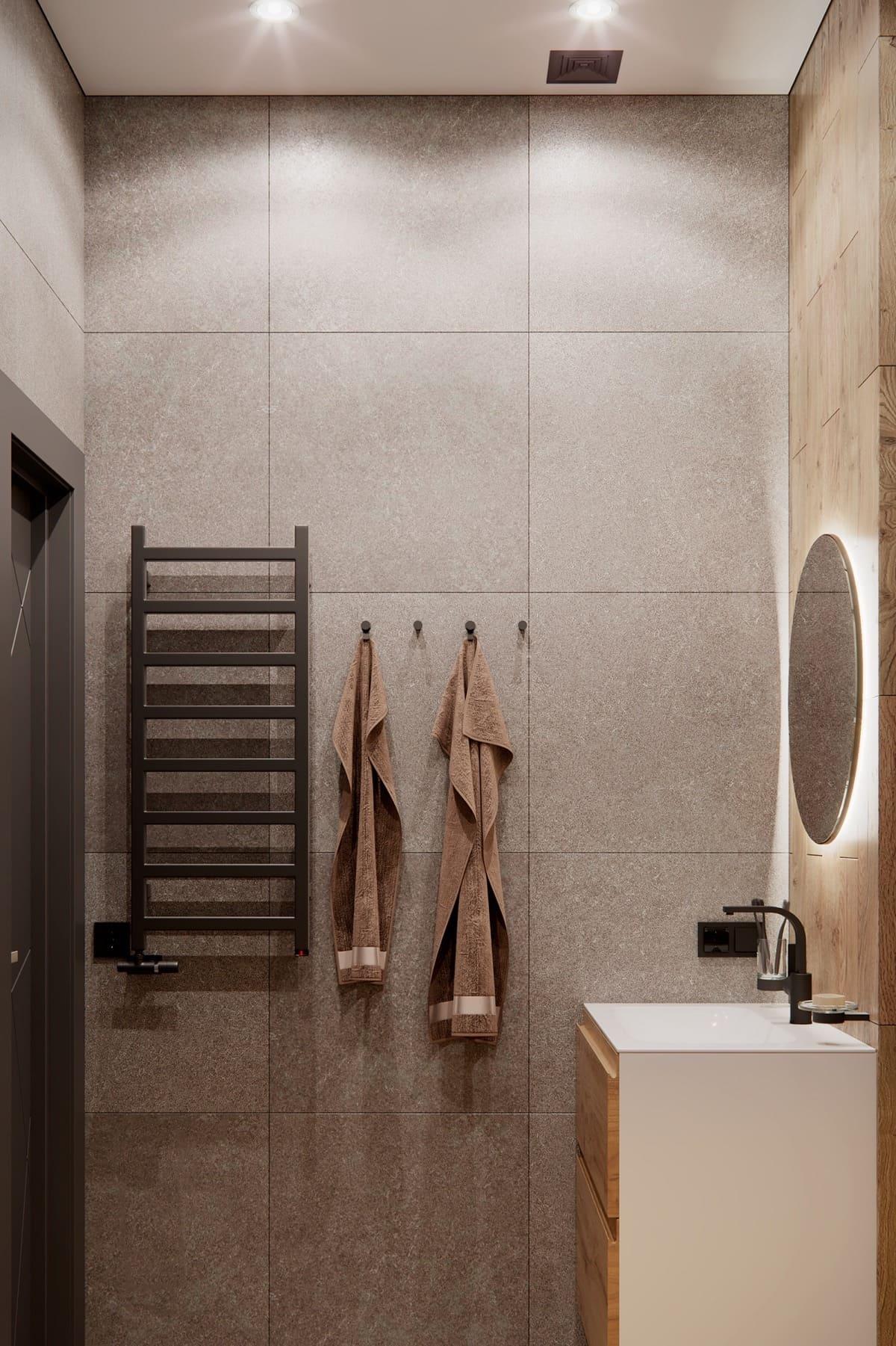 дизайн интерьера ванной комнаты фото 16