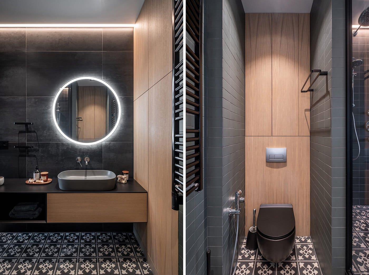 дизайн интерьера ванной комнаты фото 48