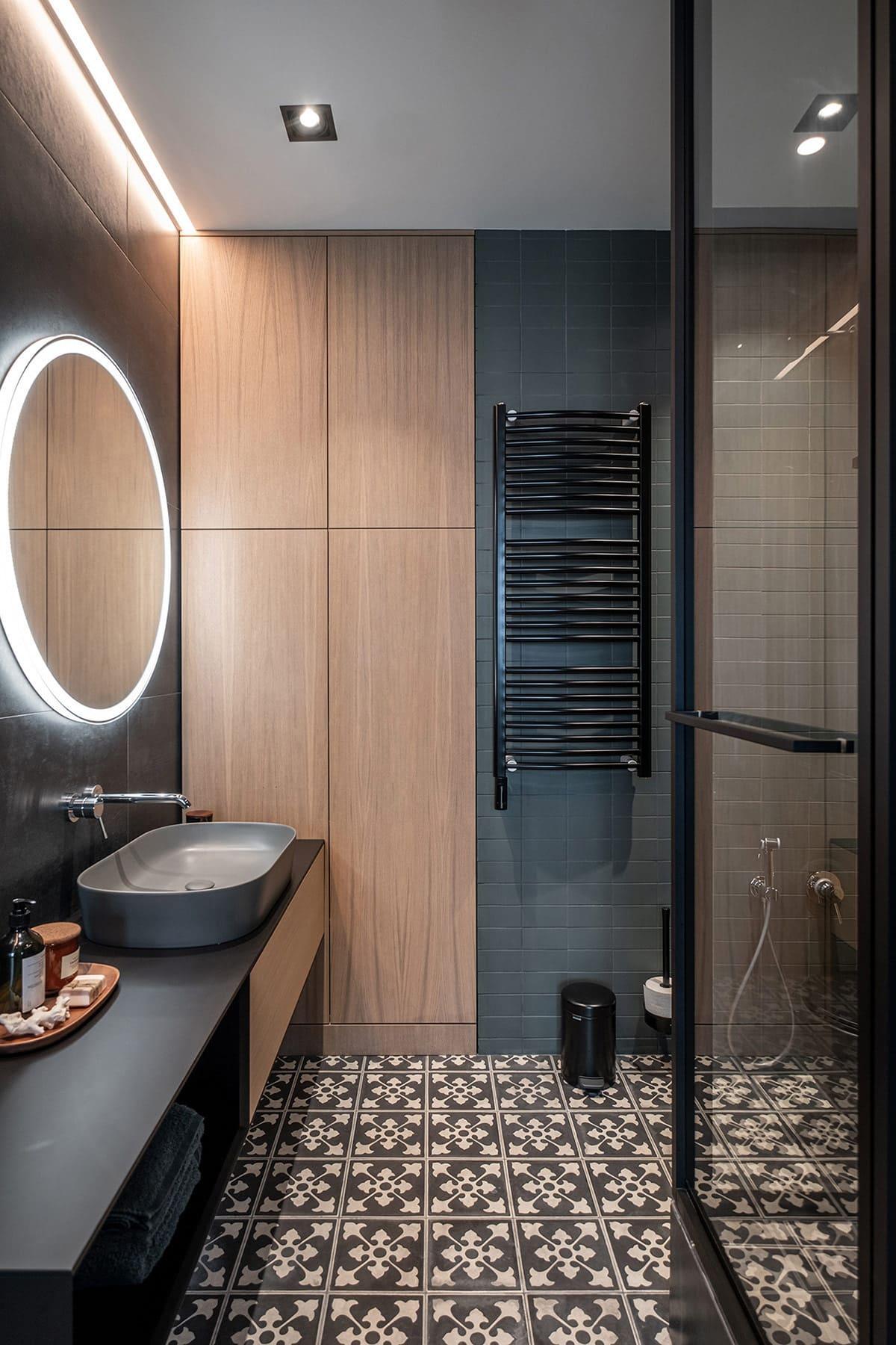 дизайн интерьера ванной комнаты фото 47