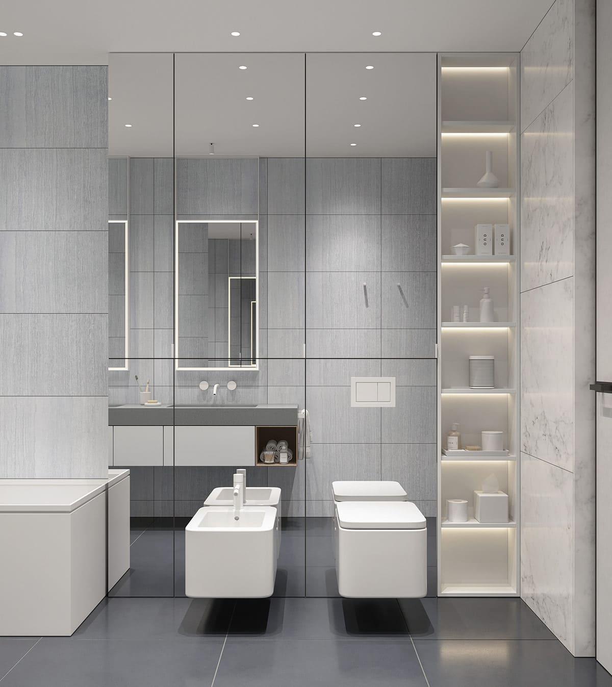дизайн интерьера ванной комнаты фото 56