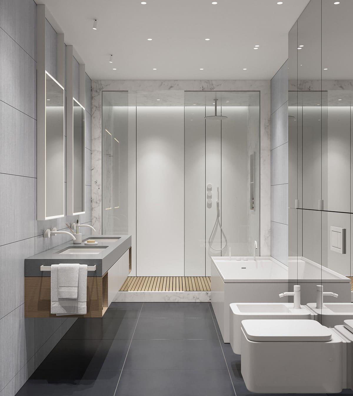дизайн интерьера ванной комнаты фото 57