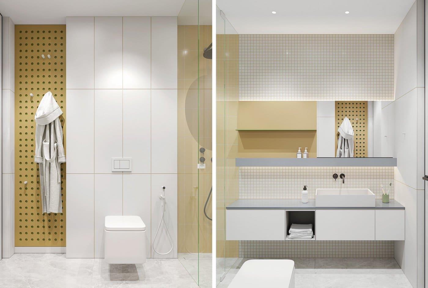 дизайн интерьера ванной комнаты фото 61