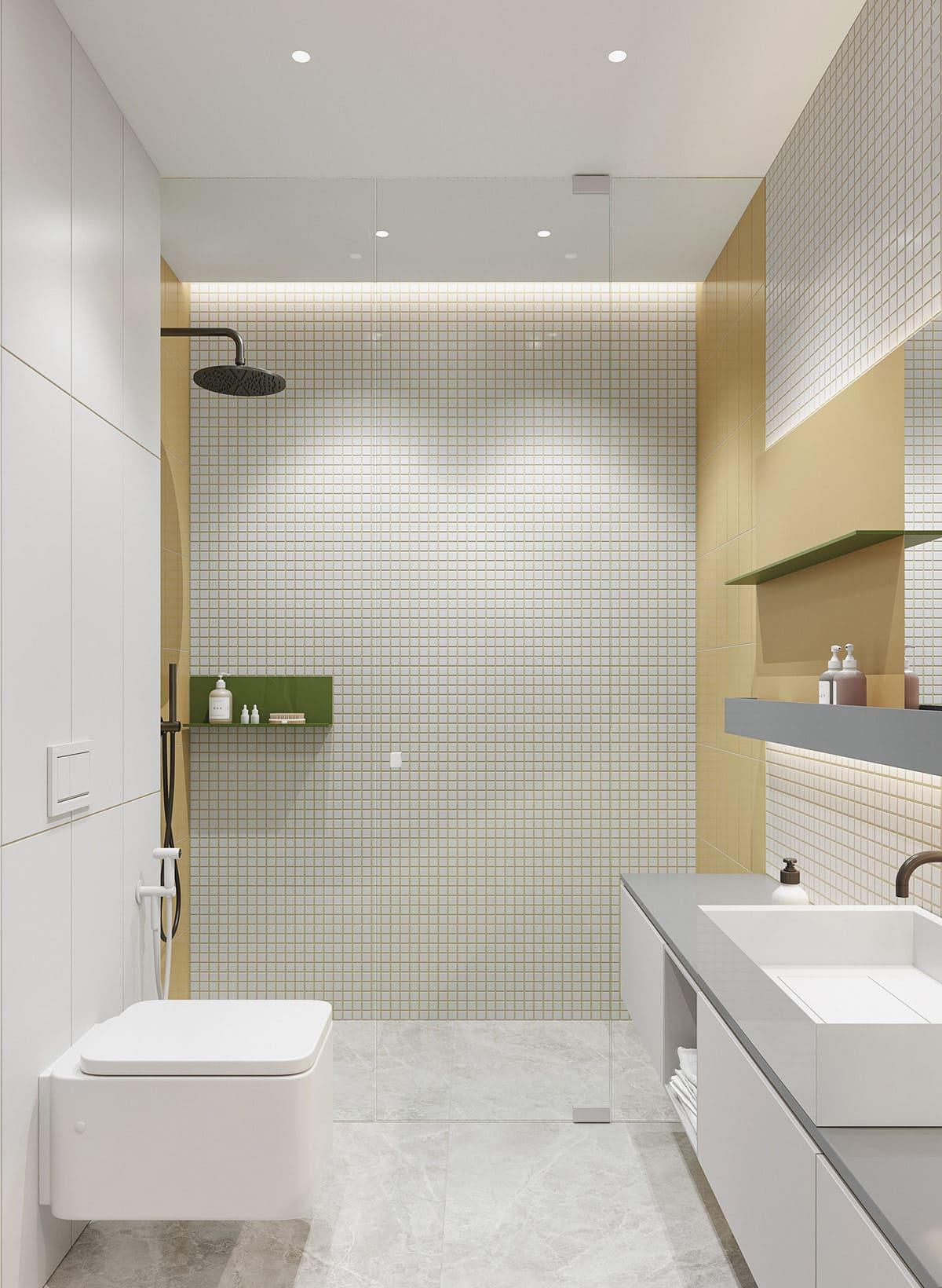 дизайн интерьера ванной комнаты фото 60