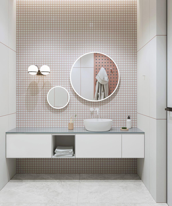 дизайн интерьера ванной комнаты фото 62