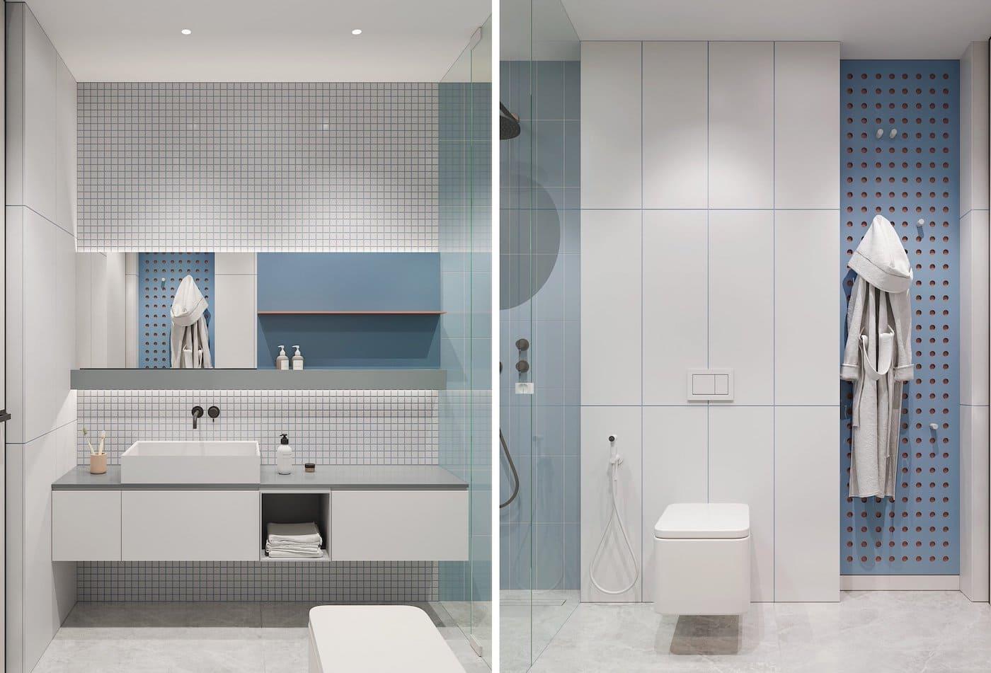 дизайн интерьера ванной комнаты фото 39