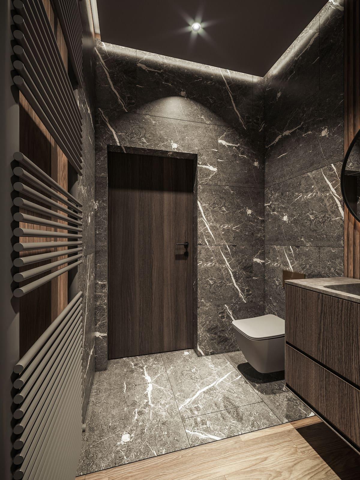 дизайн интерьера ванной комнаты фото 69