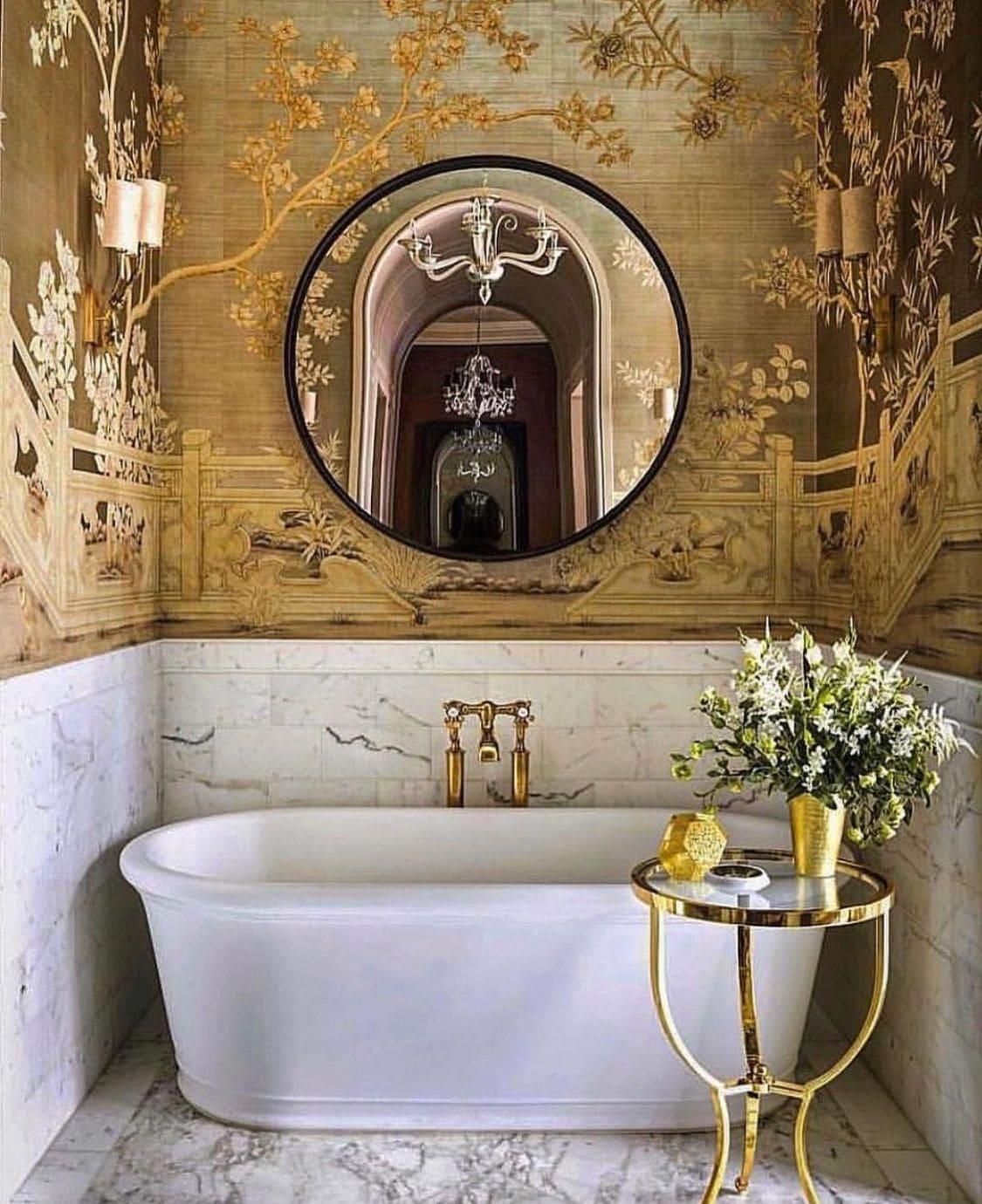 дизайн интерьера ванной комнаты фото 26