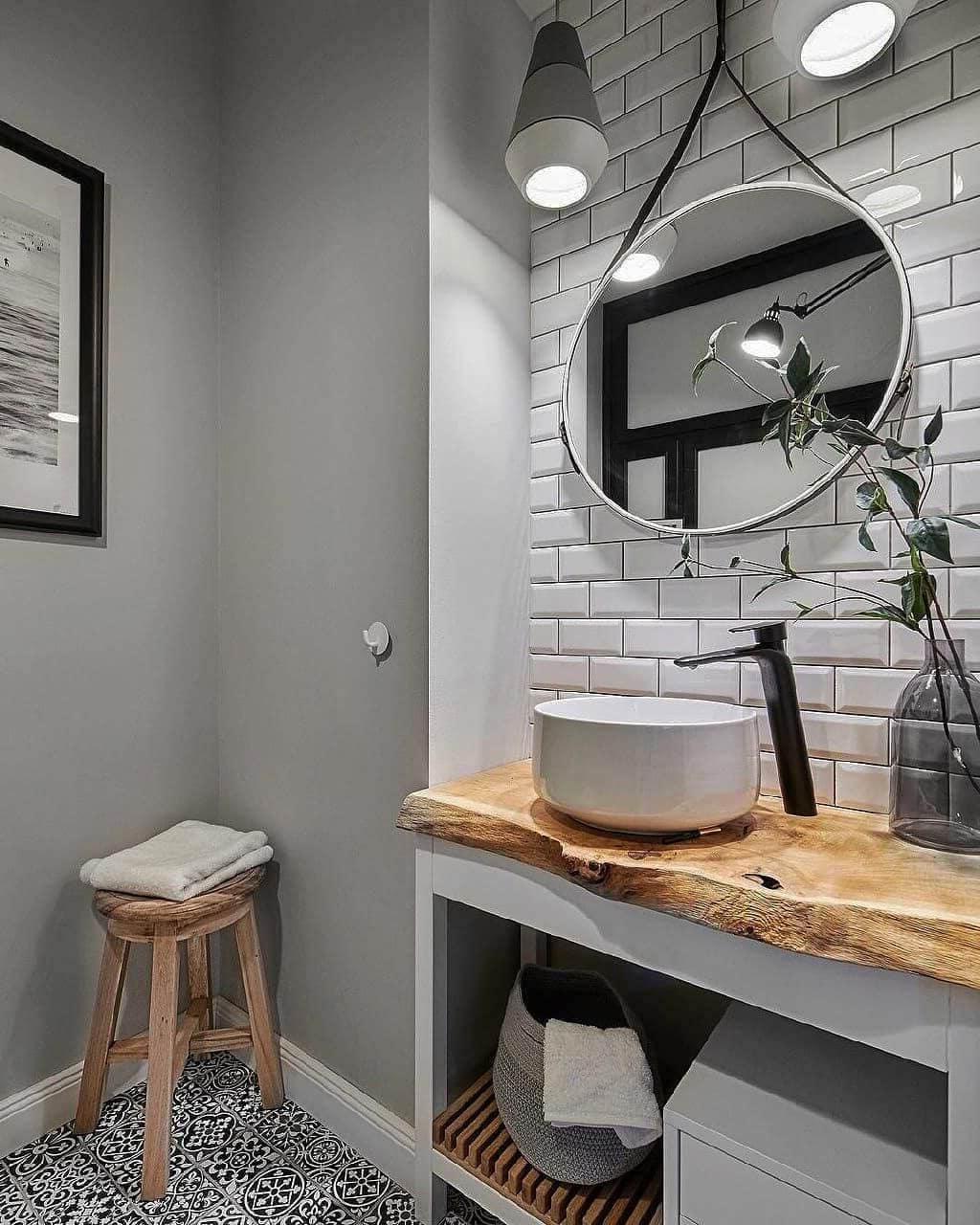 дизайн интерьера ванной комнаты фото 1