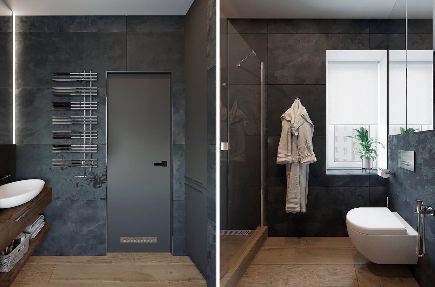дизайн интерьера ванной комнаты фото 75