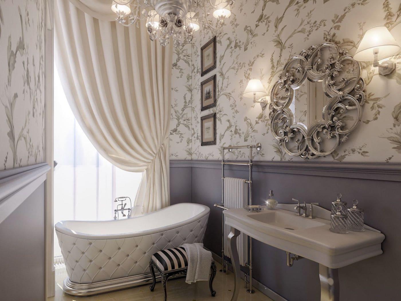 дизайн интерьера ванной комнаты фото 35