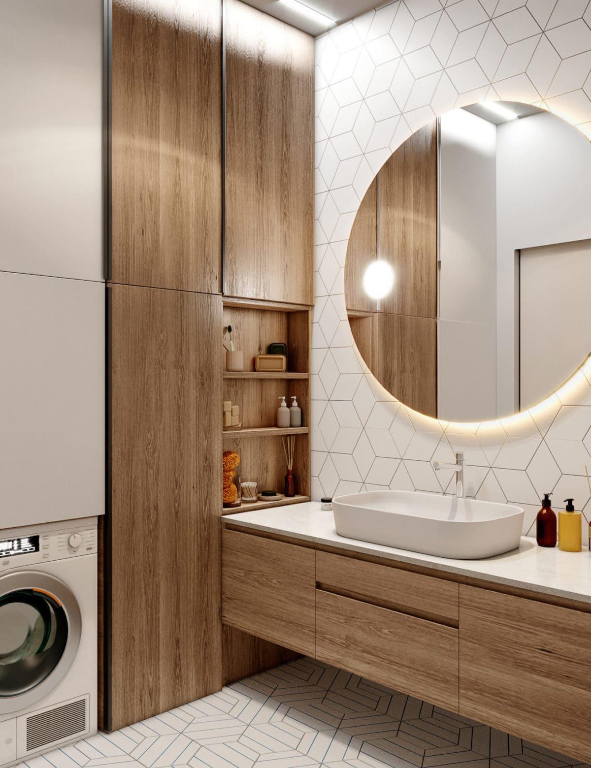 дизайн интерьера ванной комнаты фото 65