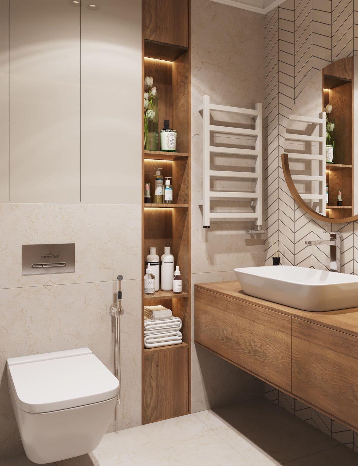 дизайн интерьера ванной комнаты фото 67