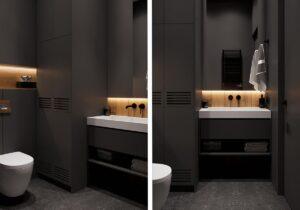 дизайн интерьера ванной комнаты фото 85