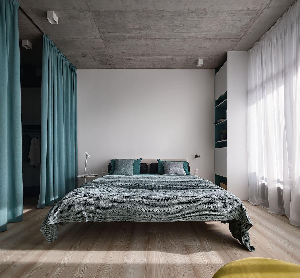 интерьер спальни фото 59