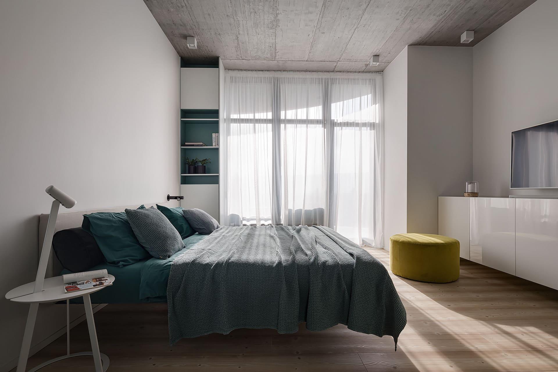 интерьер спальни фото 60