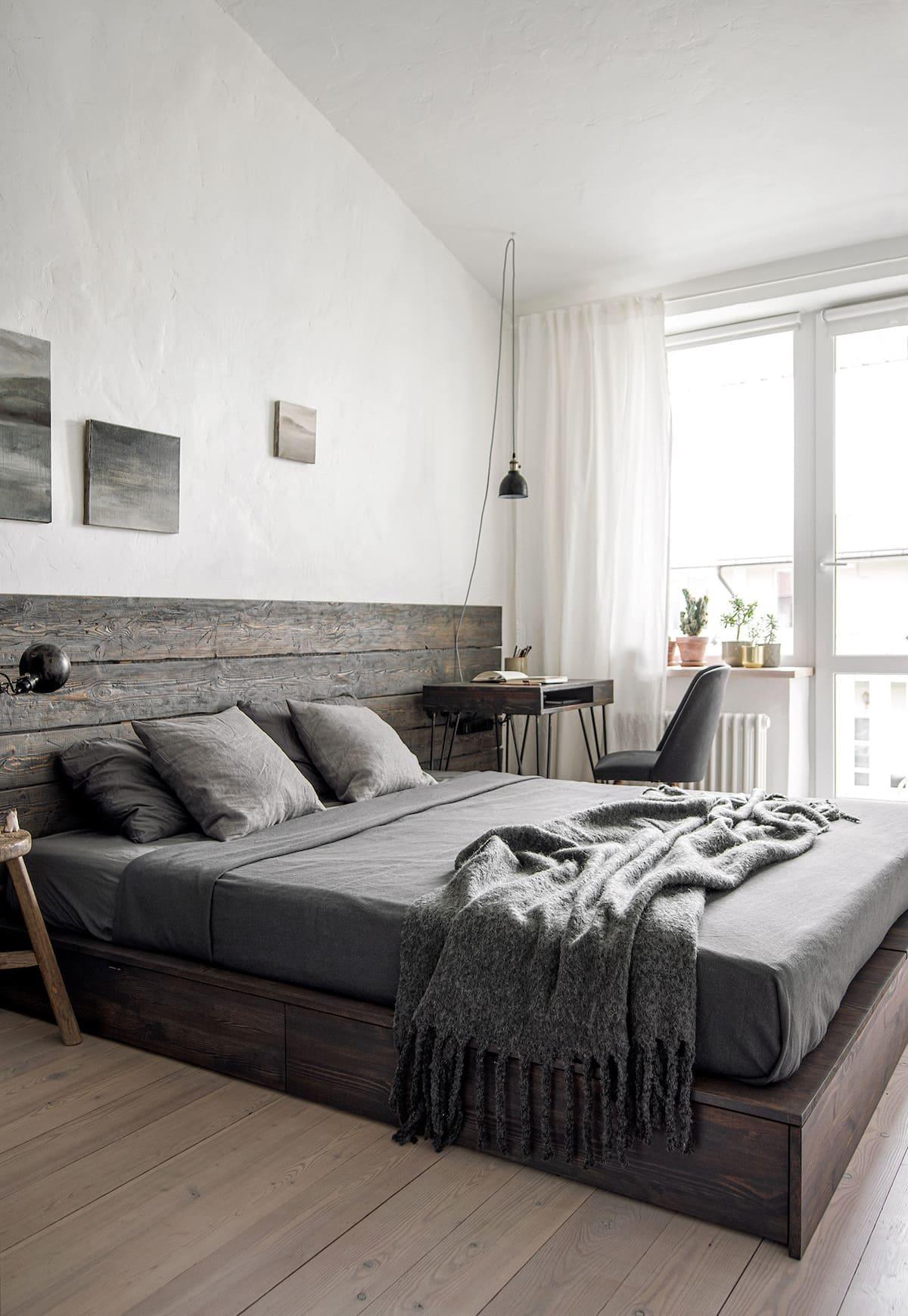 интерьер спальни фото 11
