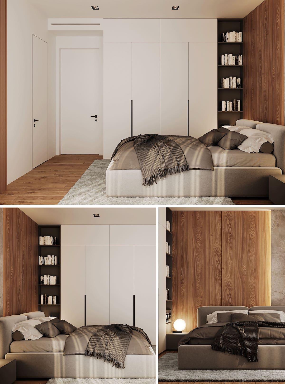 интерьер спальни фото 70