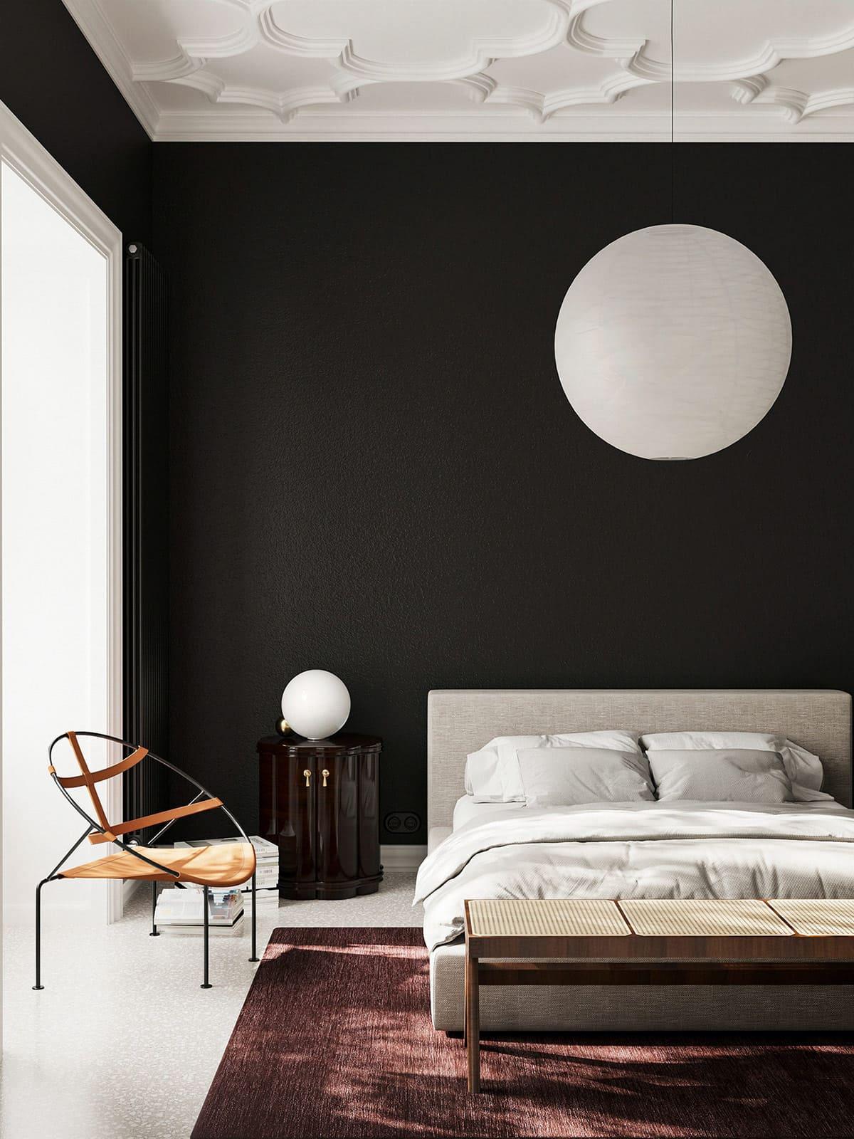 интерьер спальни фото 21