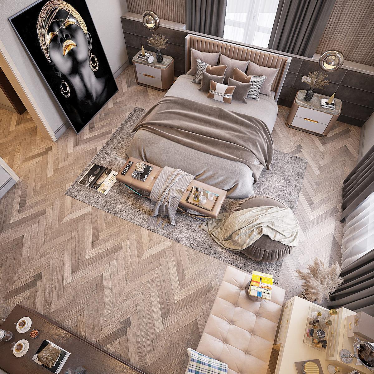 интерьер спальни фото 23