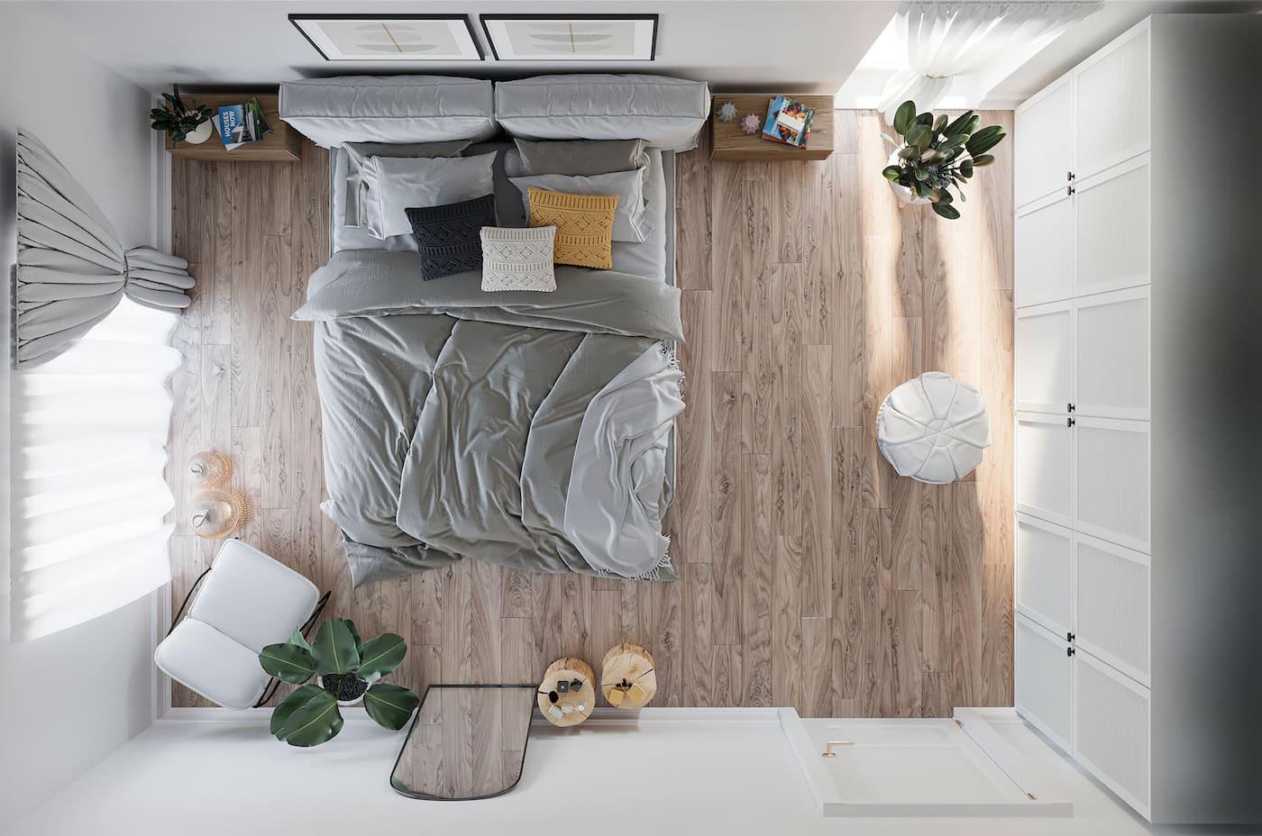 интерьер спальни фото 25