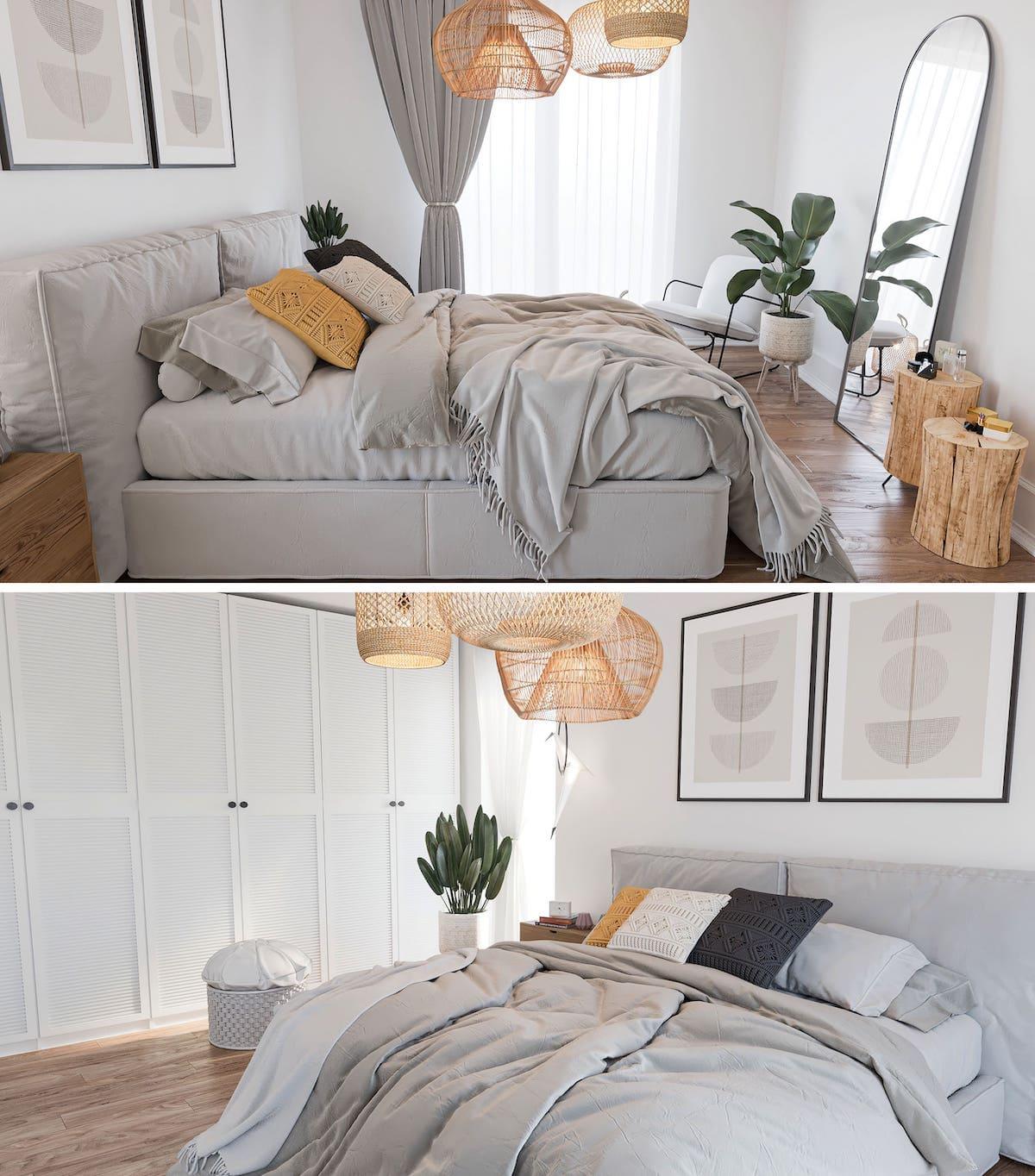 интерьер спальни фото 26