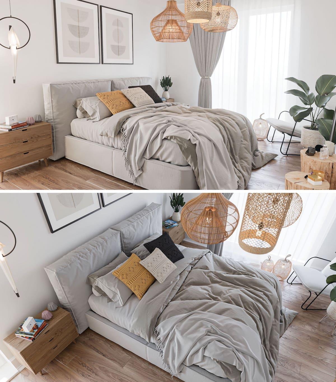 интерьер спальни фото 27
