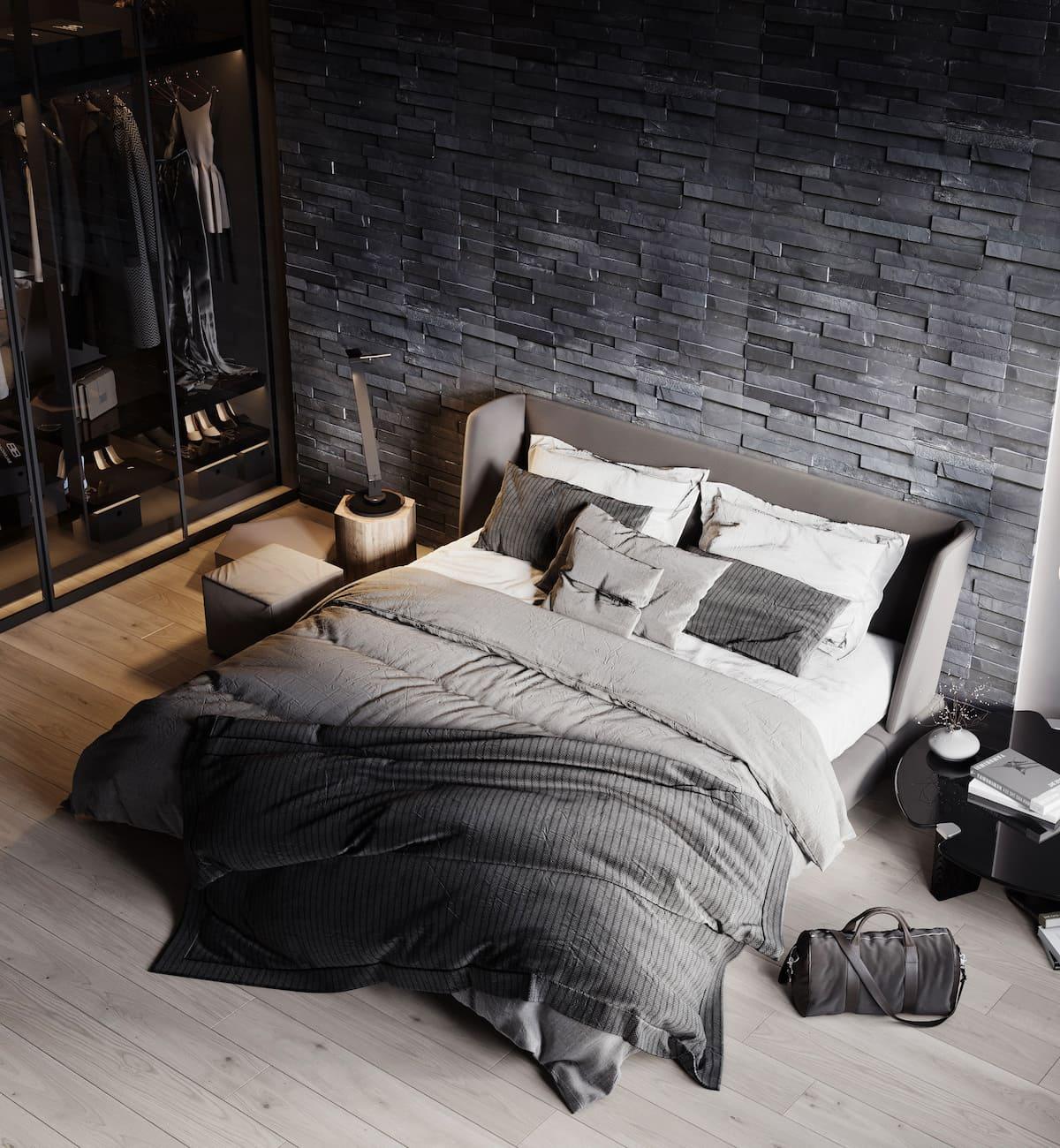 интерьер спальни фото 72