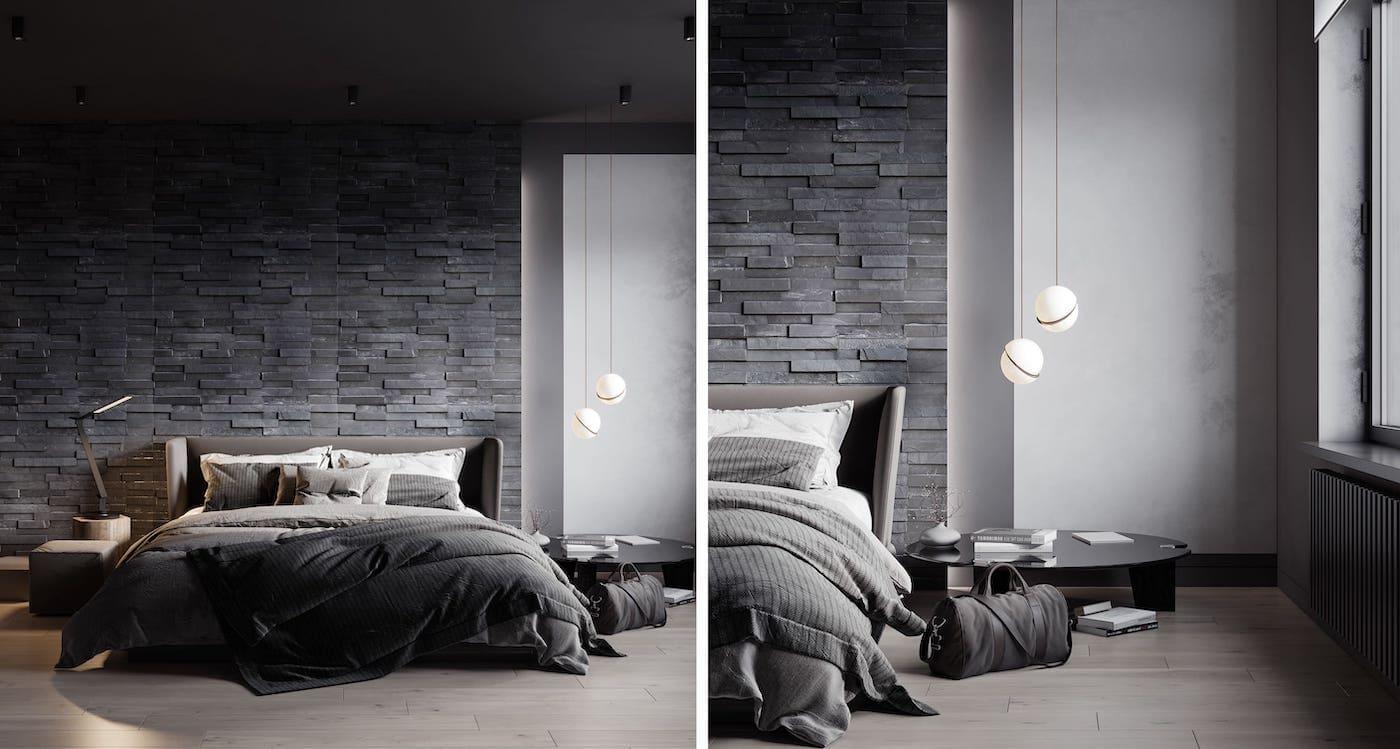 интерьер спальни фото 75