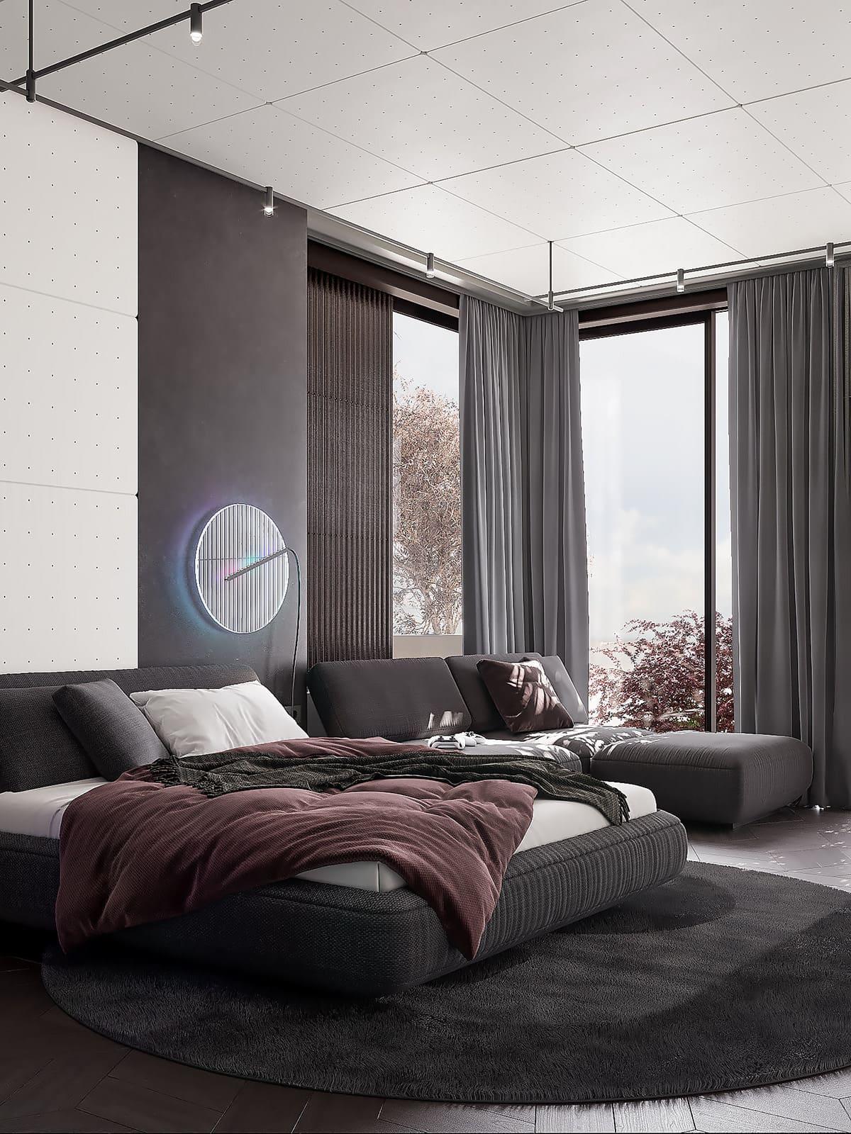 интерьер спальни фото 30