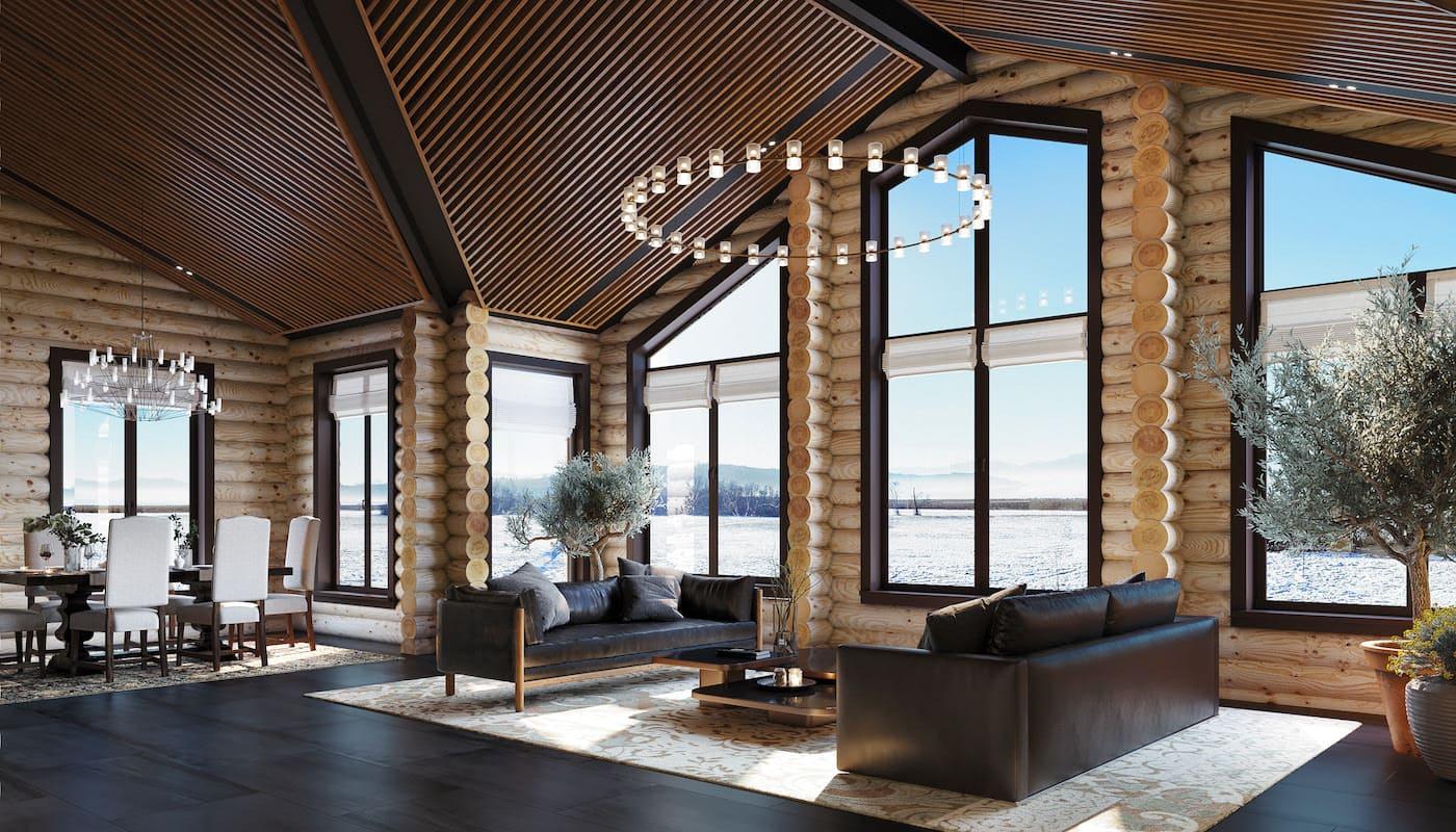 красивый дизайн потолка фото 48