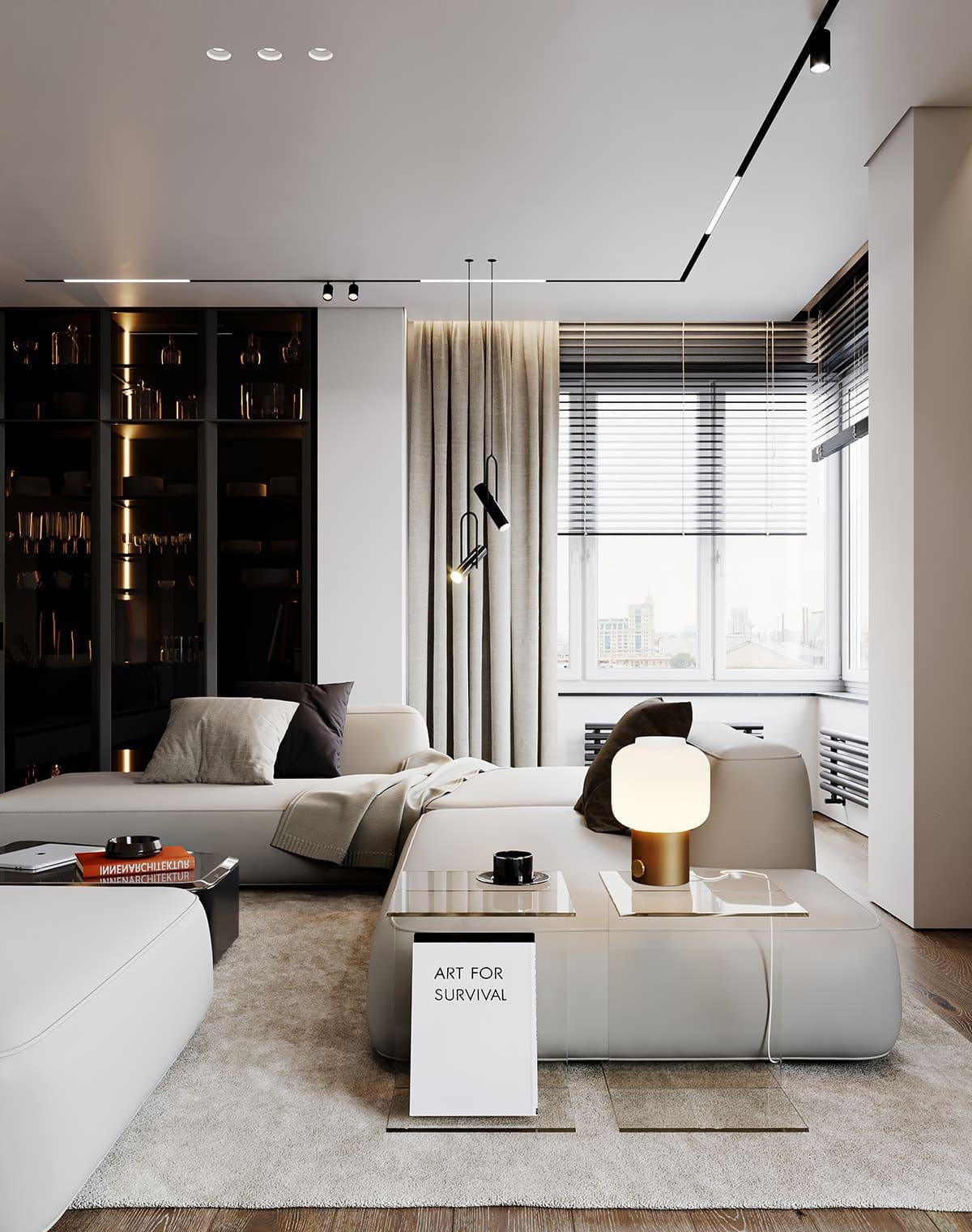 красивый дизайн потолка фото 61
